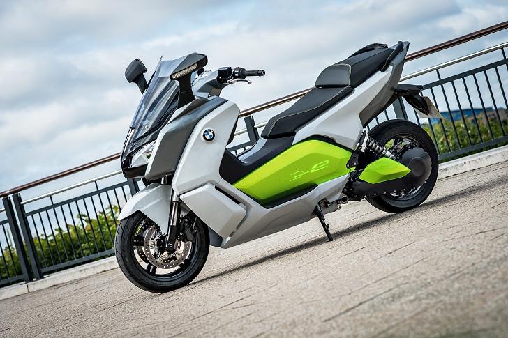 Focus sur la BMW C evolution