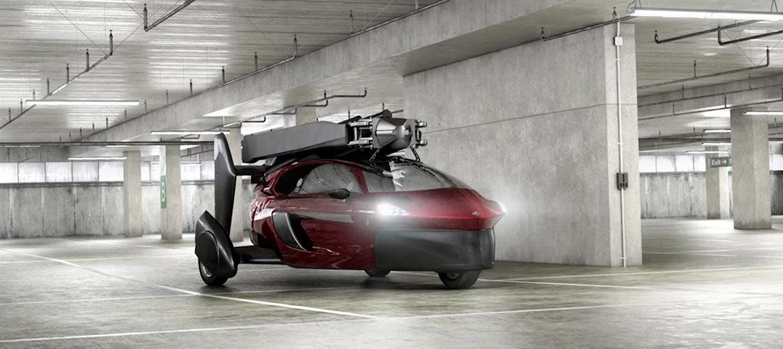 La voiture volante officiellement en vente