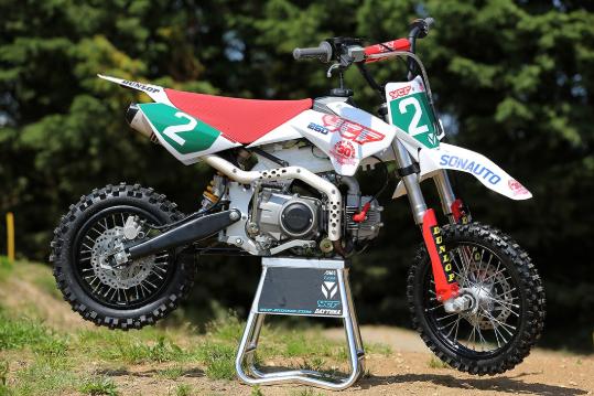 Le pit bike en pièces détachées
